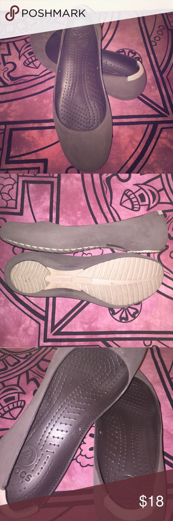 Crocs Comfort Ballet Flats Very comfortable gently worn, not your typical croc! crocs Shoes Flats & Loafers