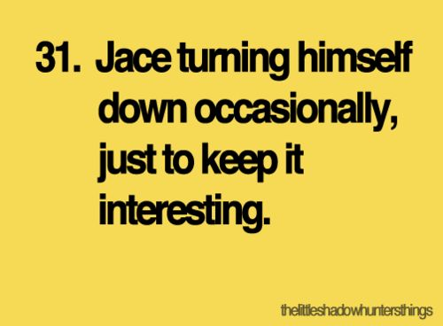The Little Shadowhunters Things Jace The Mortal Instruments City of Bones