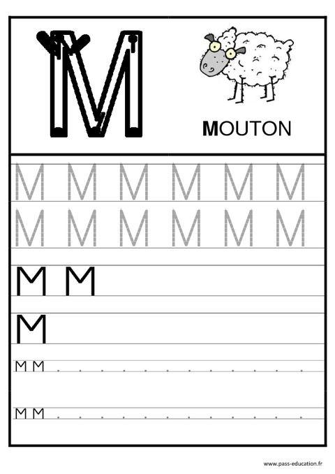 1285 best graphisme criture prenom images on pinterest - Lettres alphabet maternelle ...