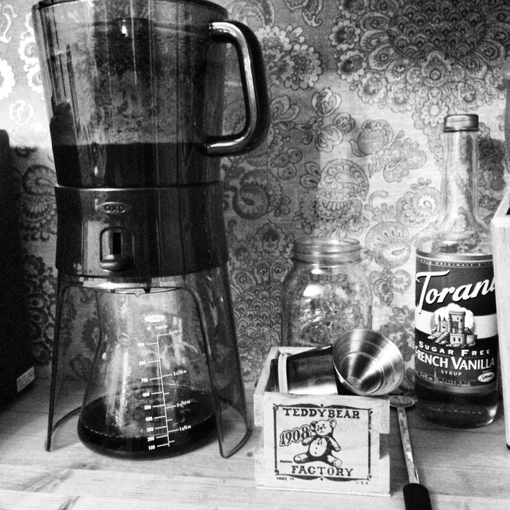 ...cold brew coffee! My new favorite....