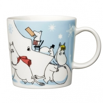 Moomin mug winter 2011, Arabia, Finland