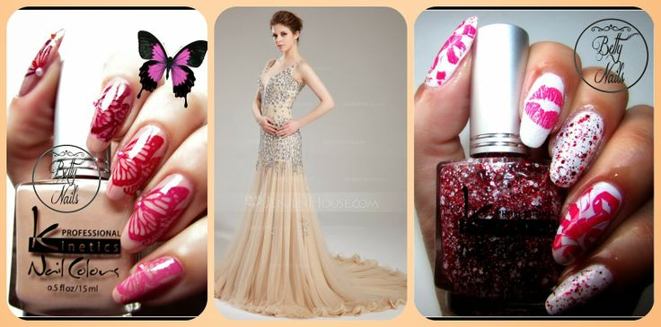 Betty Nails: Party Dress Ideas for a Fairy Tale Romantic Valent...
