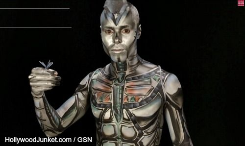 Body Painting Show On Gsn