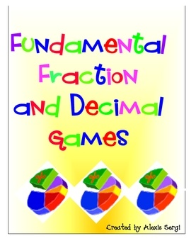 This 40 page file contains 10 fun and fantastic printable games that reinforce fraction and decimal number sense and skills. Your students will hav...