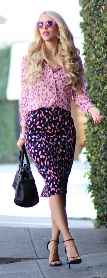 Pink Multi Paired Outfit