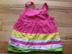 Gymboree Pretty Lady Striped Ladybugs Swing Top 6 VGUC (from the March '09 line)   $3.00