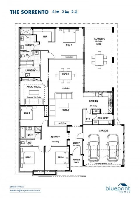 10 best liberia house 3 images on pinterest features of home the sorrento 4 bedroom home design perth floorplans malvernweather Choice Image