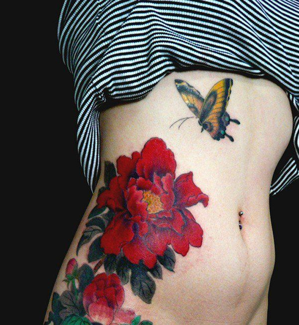 26 Peony Tattoo Designs Ideas: Best 25+ Peony Flower Tattoos Ideas On Pinterest