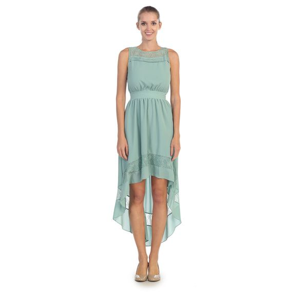 Hadari Women's Sea Green Sundress - Overstock Shopping - Top Rated Casual Dresses