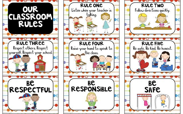 Rules and Behavior Expectation Freebies