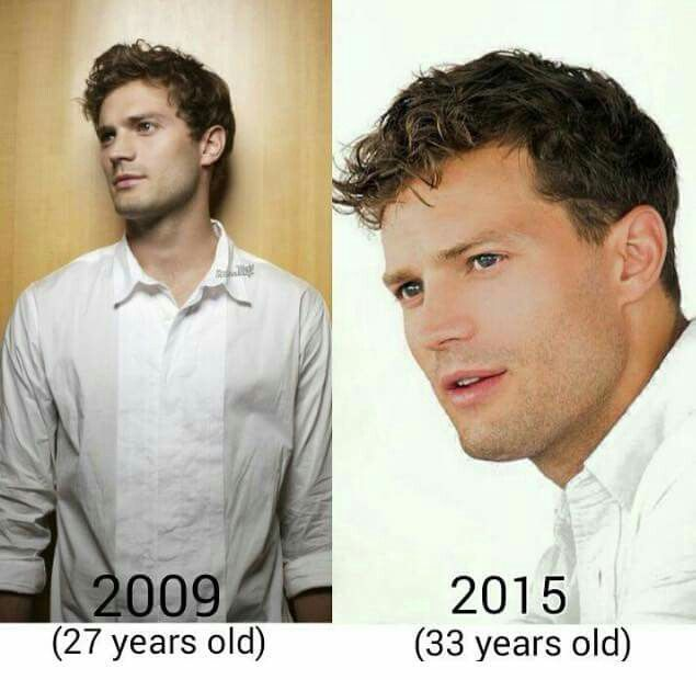 Jamie is apparently a vampire who doesn't age!! 2009 is Christian Grey's actual age!