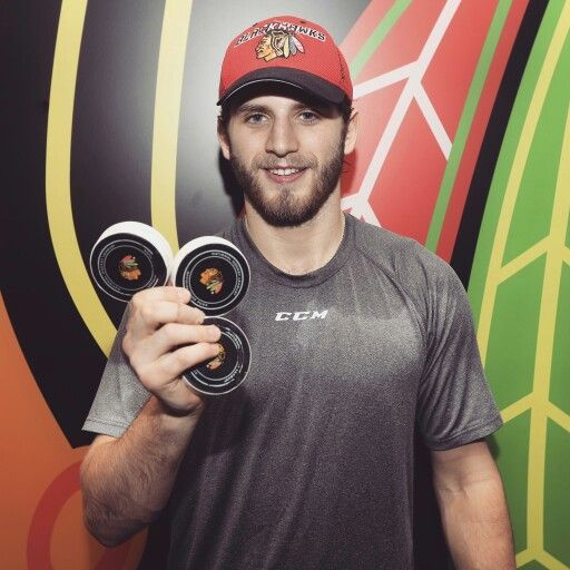 Hartman's First NHL Hat Trick! Jan. 8/17 Nashville Predators vs Chicago Blackhawks