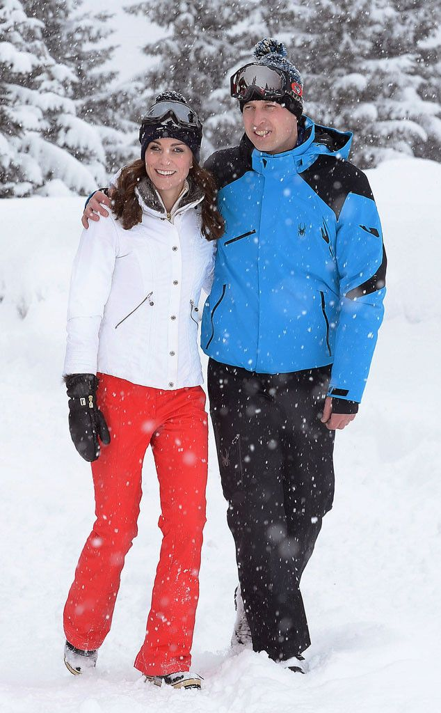Ready to Hit the Slopes? from Prince George and Princess Charlotte's First Ski Vacation  Long before they became parents, both Kate Middleton and Prince William were avid skiers.