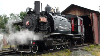 Steam Train Port Alberni BC