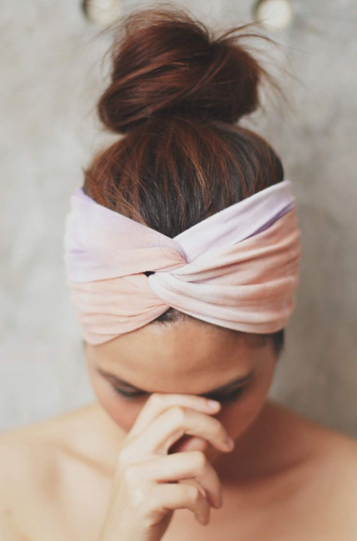 head wrap _ for those days when I have no time for effort