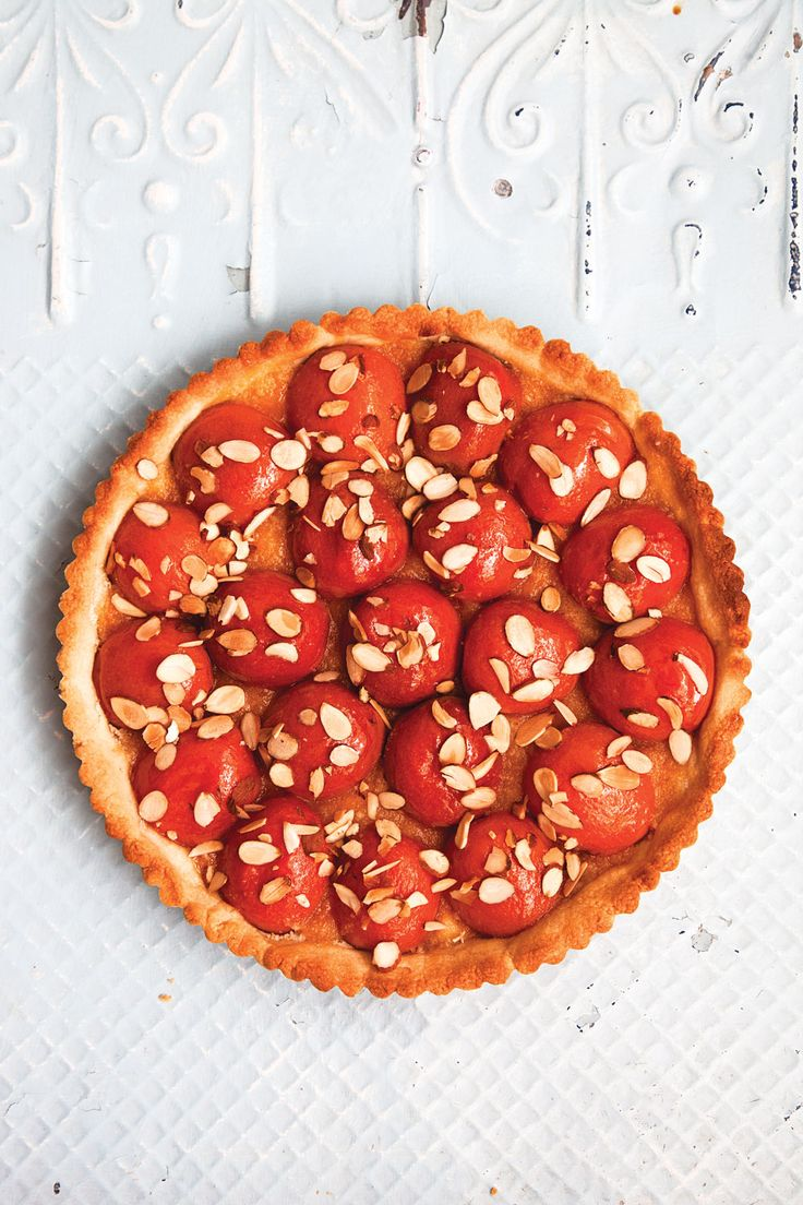 Apricot-Almond Tart | SAVEUR