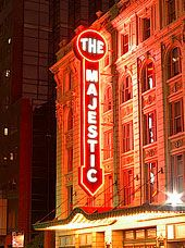 Majestic Theater in Dallas.  Opened in 1921 and still in use.  Named to the National Register of Historic Places.