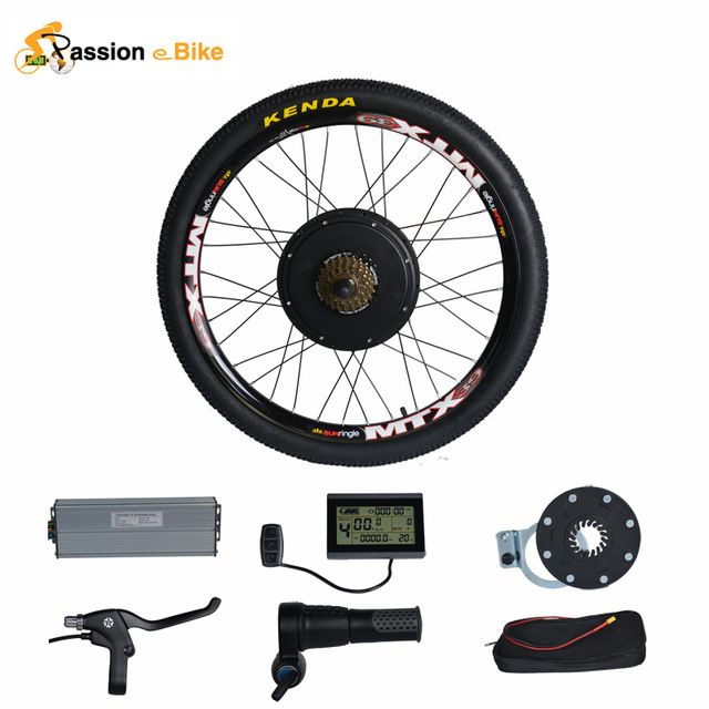 "Passion brand 48V 1500W Motor Electric Bicycle Bike Conversion Kit for 20"" 24"" 26"" 700C 28"" 29"" Rear Wheel"