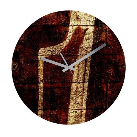 Frameless Wall Clock Texture59