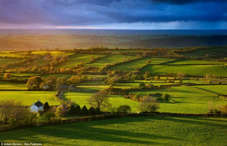 Brentor, Dartmoor National Park, in Devon