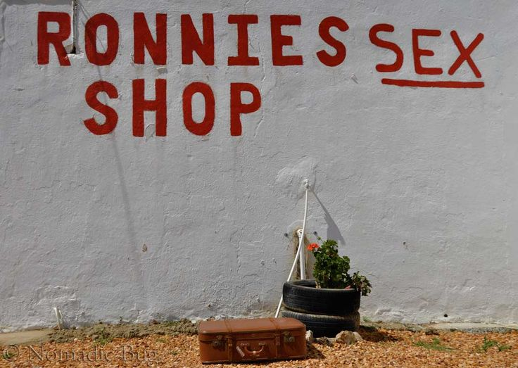 RONNIES SEX SHOP, Ronnies Sex Shop, Route 62, Klein Karoo, South Africa  Landmarks Nomadic Existence