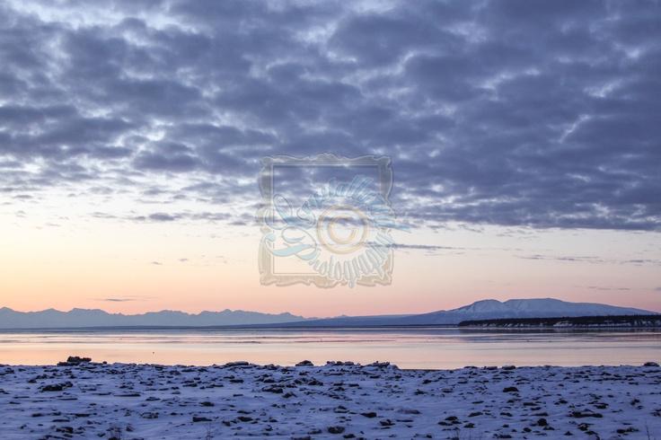 Sleeping Lady Alaska Sunset   Crystallyzed Photography  www.crystallyzed.com