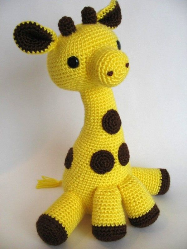 Amigurumi Giraffe Toy - Crochet