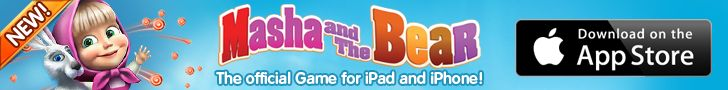 World-famous kids' favourite, Masha and the Bear, has finally gone interactive. Try the official game for free today!