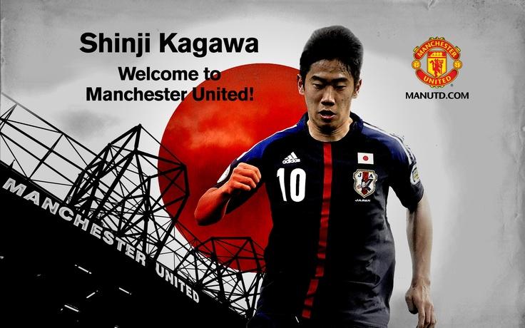SHINJI KAGAWA -  Welcome to Manchester!