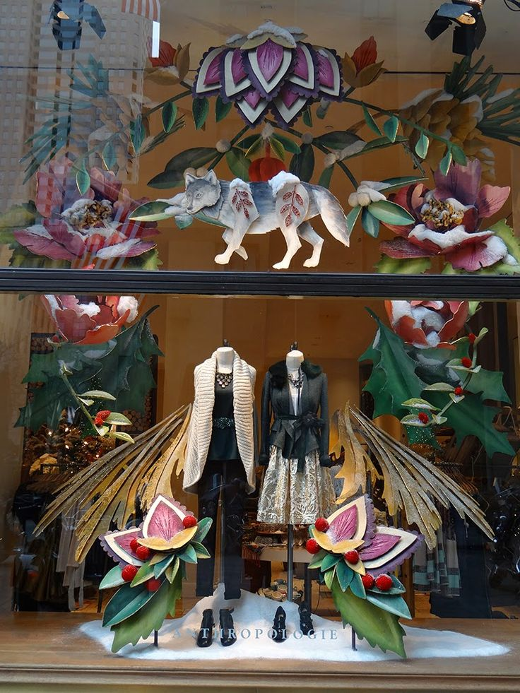 anthropologie Beautiful Window Displays! ⓔⓣⓒ