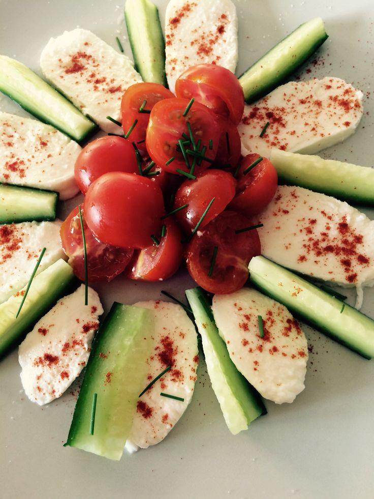Mozzarela with tomatoes