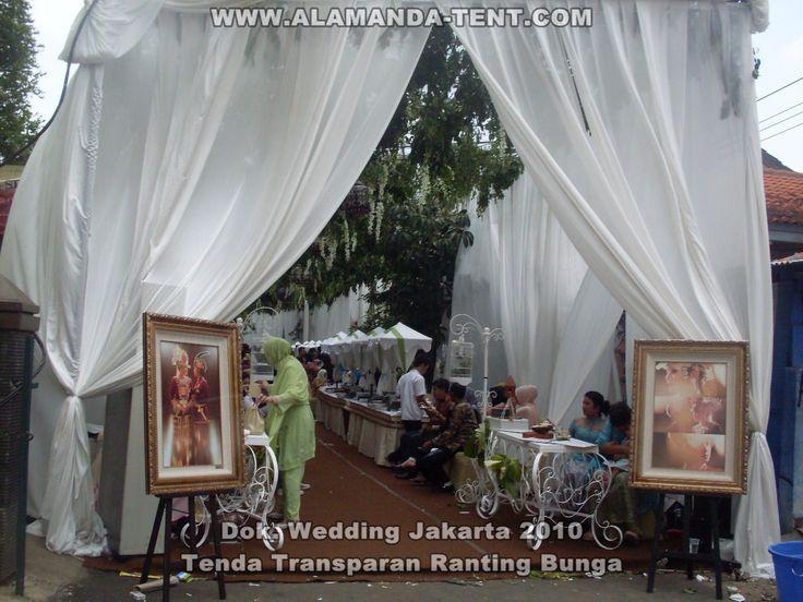 Tenda Pesta Dekorasi Pernikahan Alamanda Tent Jakarta