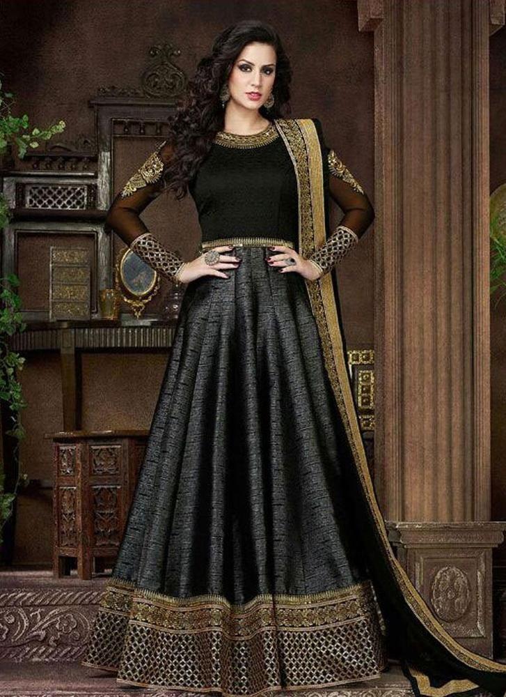 Indian Pakistani Anarkali Dress Ethnic Kameez Suit Designer Bollywood Salwar New #TanishiFashion #SalwarKameez