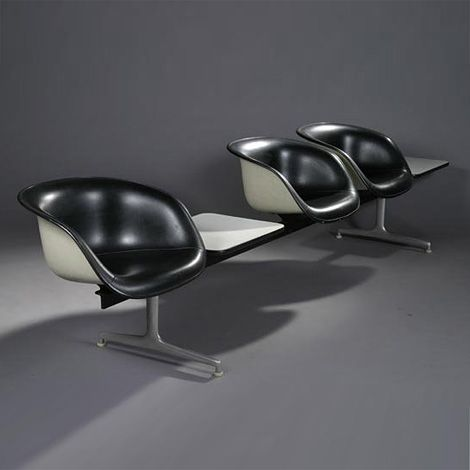 Eames Tandem Shell seat