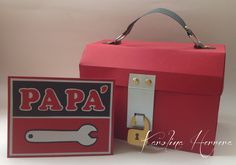 father's day tool box and card