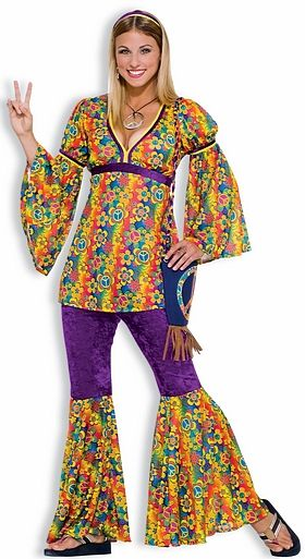 Purple Haze Hippie Costume #OyaCostumes
