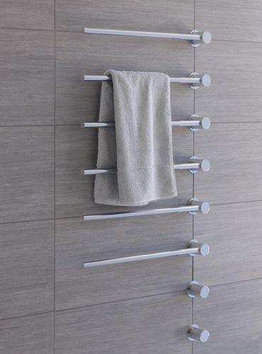 Radiador secatoallas eléctrico / vertical / de metal / de pared T39ELUS VOLA