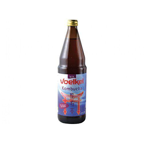 Baule Volante Voelkel Kombucha 750ml: Baule Volante kombucha ingrédients: eau minérale naturelle, sucre de canne brut, le thé vert, les…