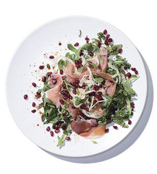 Mediterranean Salad with Prosciutto and Pomegranate