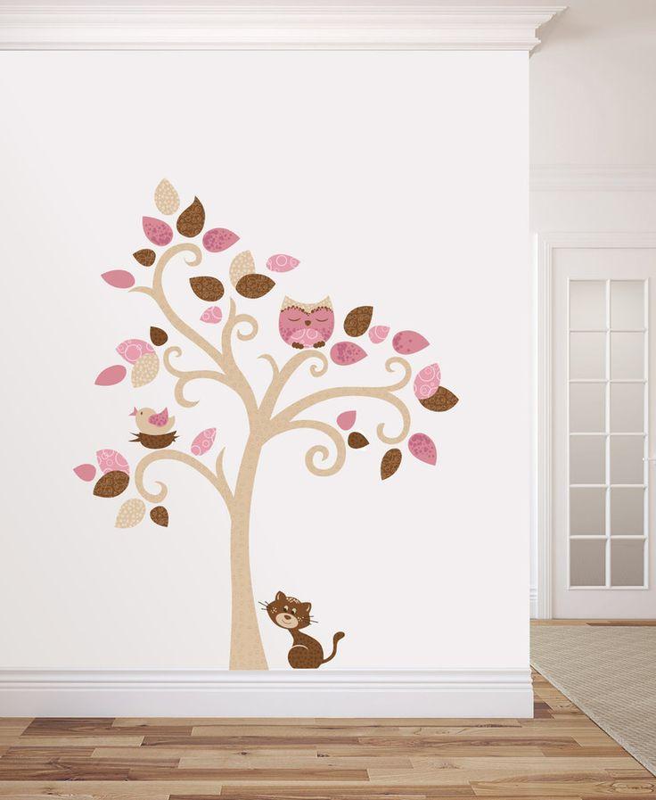 L' Albero del Gatto adesivo da muro per decorare la tua casa, by La Banda del Riccio, 89,00 € su misshobby.com
