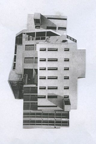 manipulated architecture...morphing several buildings...various perspectives