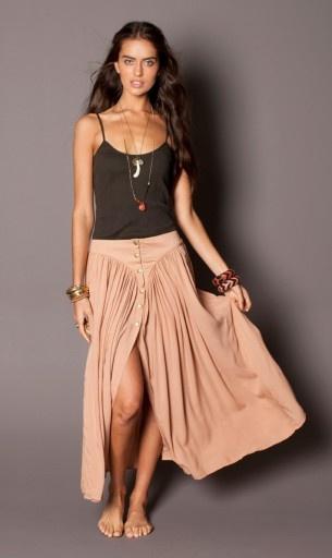 """so lovely.  la palma skirt – rose by """"goddess of babylon"""""""