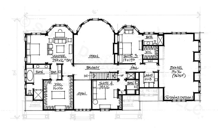 5102 Sq Ft Second Large Homes Pinterest Floor Plans