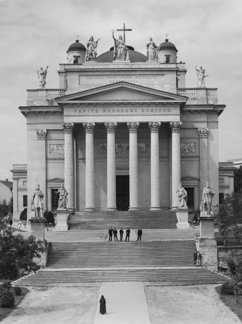1936. Eger, Főszékesegyház.