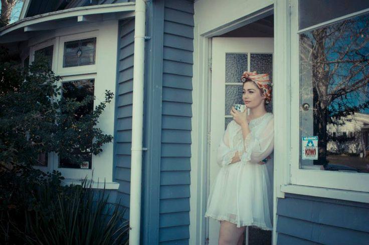 Leda waiting for the postman. Jocelen Janon Photography.