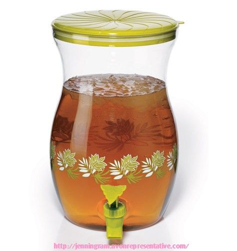 Tropical Leaf Beverage Dispenser  629-551 Reg. $17.99
