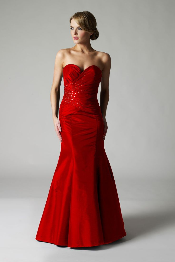 98 best Red evening dress images on Pinterest | Red evening ...