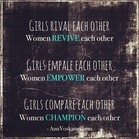 Love your sisters always!!! To do anything else is a disservice.......