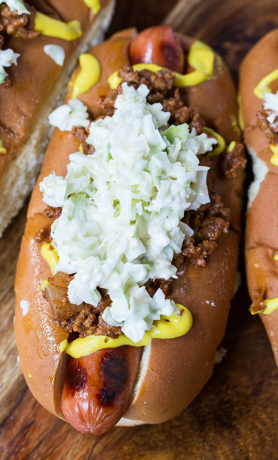 ... Hot Dogs on Pinterest | Hot Dog Recipes, Chili Dogs and Dog Recipes