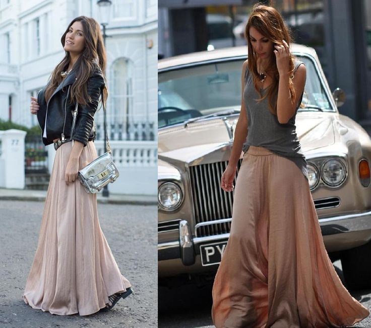 Long Flowing Maxi Skirts - Redskirtz